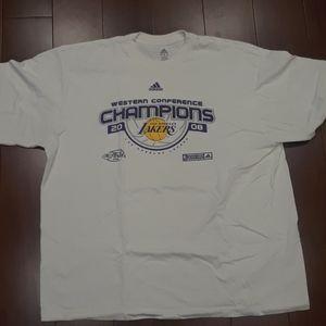 Adidas Lakers T shirt